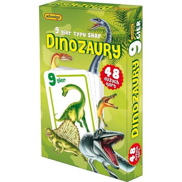 Dinozaury karty snap