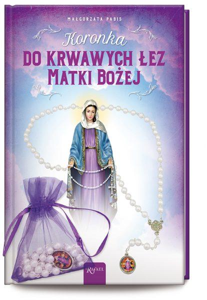 Koronka do krwawych łez Matki Bożej + koronka w etui