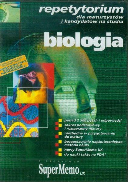 Biologia repetytorium dla maturzystów i kandydatów na studia (multimedia)