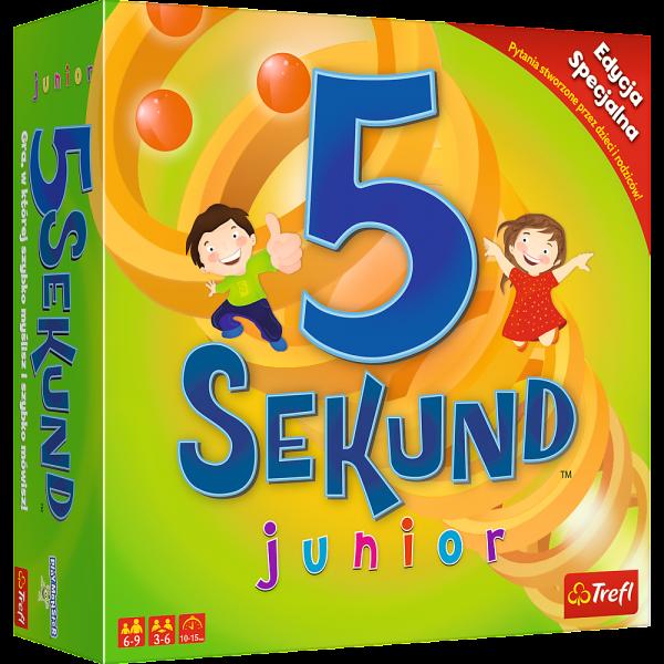 5 sekund junior. Gra rodzinna. Edycja specjalna