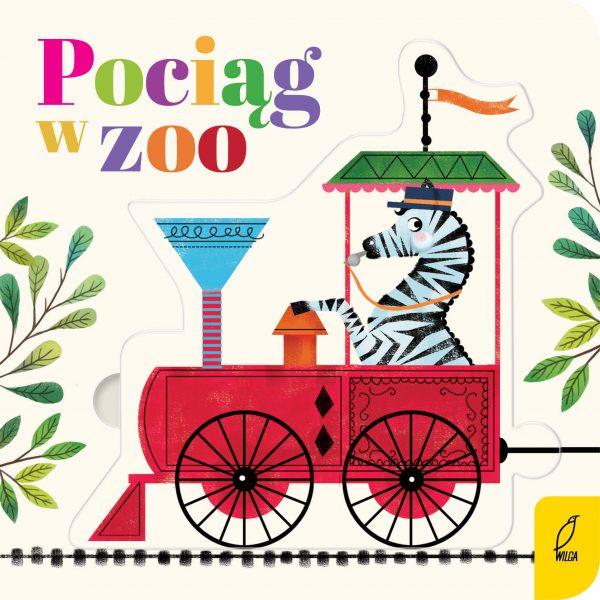 Czytanki-układanki. Pociąg w zoo