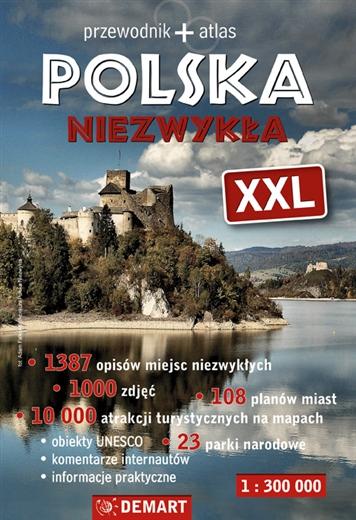 Polska Niezwykła XXL. Przewodnik + atlas
