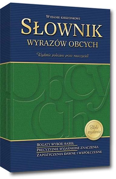 Słownik wyrazów obcych – wydanie kieszonkowe