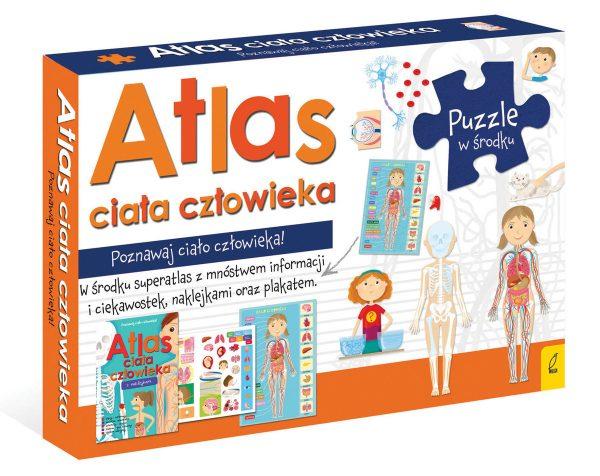 Atlas ciała człowieka + puzzle