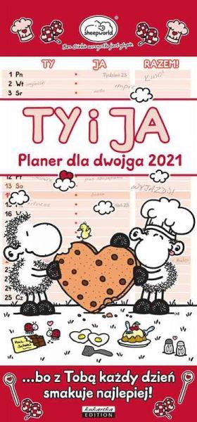 Kalendarz Planer 2021 – dla dwojga. Ty i Ja