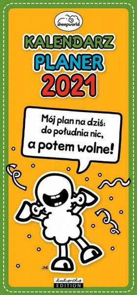 Kalendarz Planer 2021 – Mój plan na dziś: do południa nic, a potem wolne!