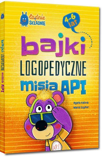 Bajki logopedyczne misia API (4-6 lat)