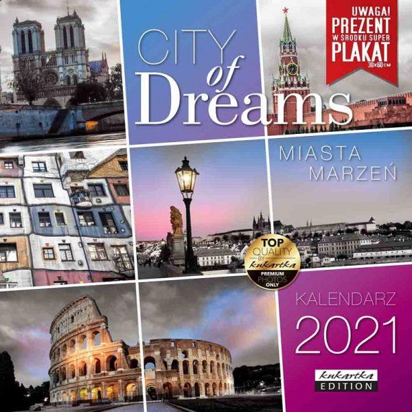 Kalendarz 2021 – Miasta marzeń