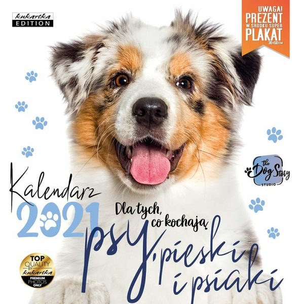 Kalendarz 2021 – Psy, pieski i psiaki