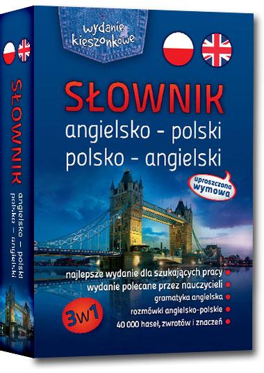 Słownik angielsko-polski, polsko-angielski 3w1 – wydanie kieszonkowe