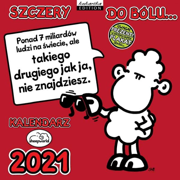 Kalendarz 2021 – Szczery do bólu