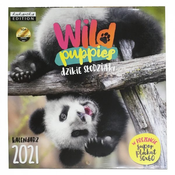 Kalendarz 2021 – Wild puppies