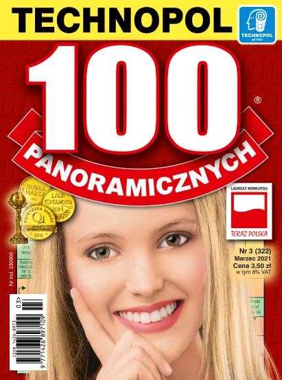 Krzyżówki Technopol 100 panoramicznych nr 3, 2021