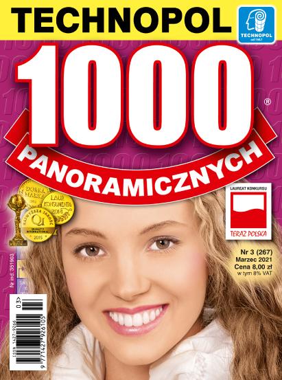 Krzyżówki Technopol 1000 panoramicznych nr 3, 2021