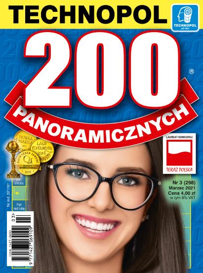 Krzyżówki Technopol 200 panoramicznych nr 3, 2021