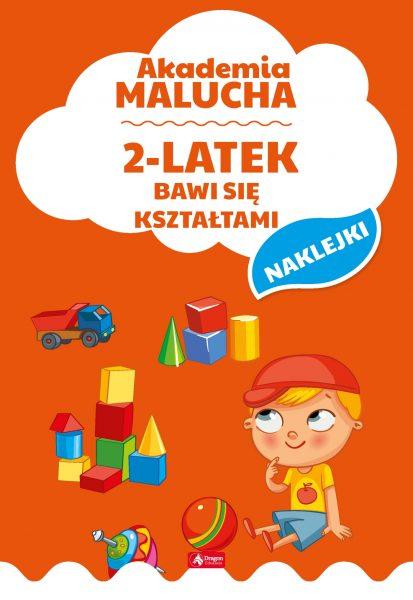 Akademia Malucha. 2-latek bawi się kształtami