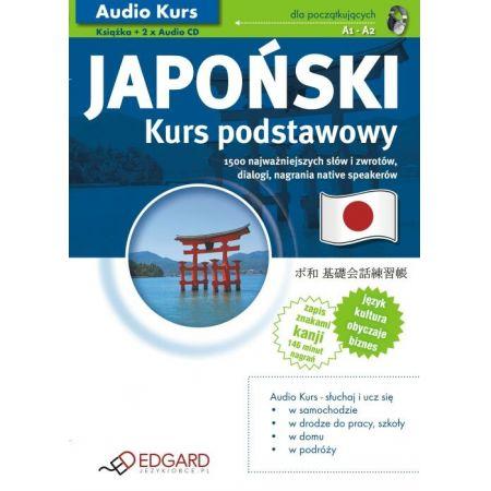 Japoński kurs podstawowy a1-a2 dla poczatkujących + CD