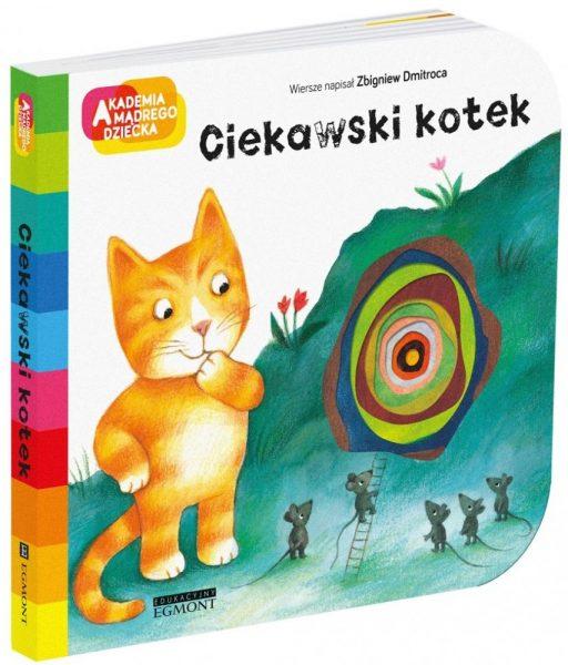 Akademia mądrego dziecka. Ciekawski kotek