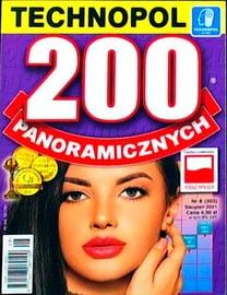 Krzyżówki Technopol 200 panoramicznych nr 8, 2021