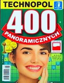 Krzyżówki Technopol 400 panoramicznych nr 8, 2021