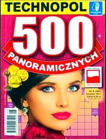 Krzyżówki Technopol 500 panoramicznych nr 8, 2021